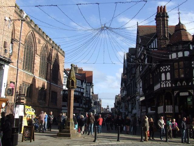 Market Cross, Chester