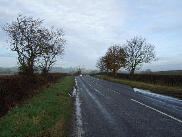 Bishopton Lane towards Great Stainton