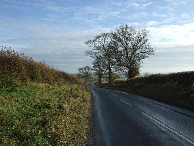 Minor road towards Bishopton