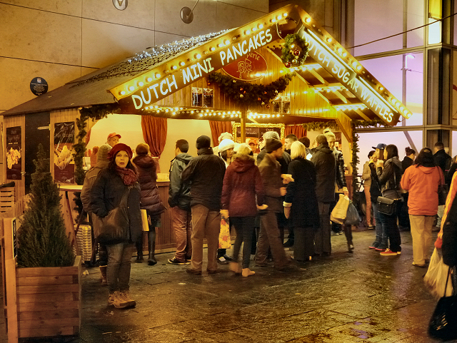 Exchange Square, Manchester Christmas Market
