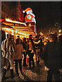 SJ8398 : Christmas Market Albert Square by David Dixon