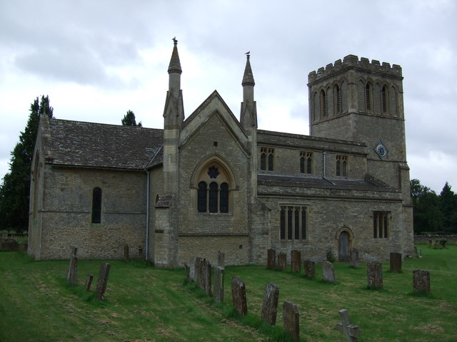 All Saints church, Middleton Stoney
