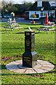 SU4834 : Queen's Diamond Jubilee memorial, Kings Worthy by Peter Facey