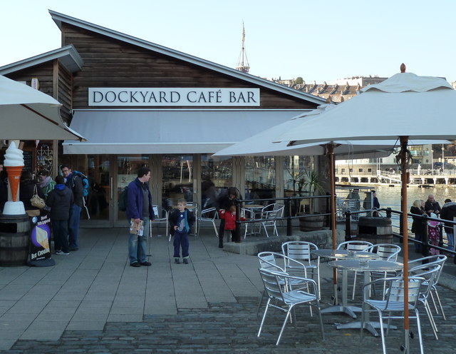Cafe at the SS Great Britain, Bristol
