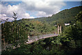 SH7956 : Sappers' suspension bridge, Betws-y-Coed by Phil Champion