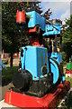 SW6831 : Poldark Mine - Reader steam engine by Chris Allen