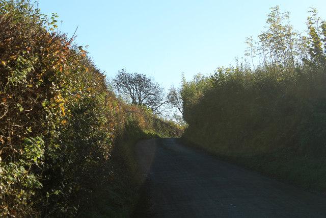 2012 : Norton Lane heading for Chew Magna