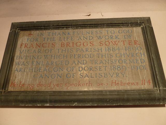 Inside Holy Trinity, Weymouth (b)