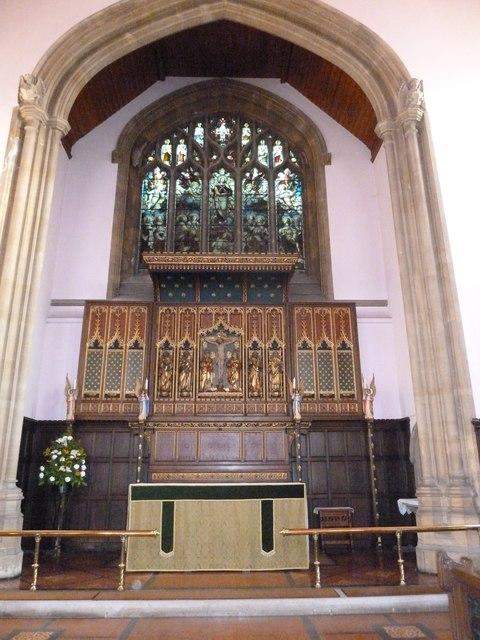 Inside Holy Trinity, Weymouth (c)