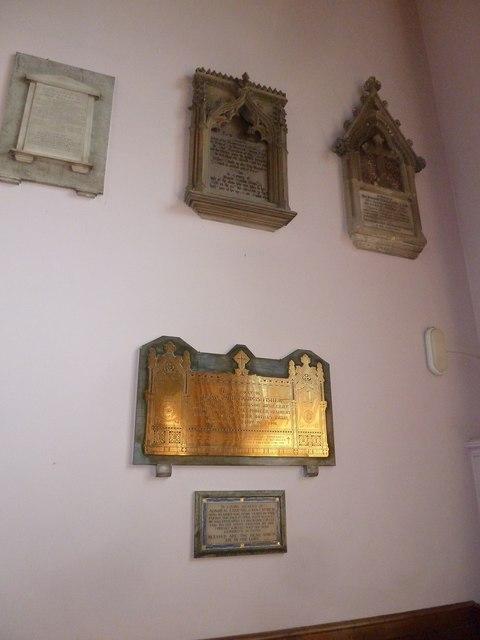 Inside Holy Trinity, Weymouth (e)