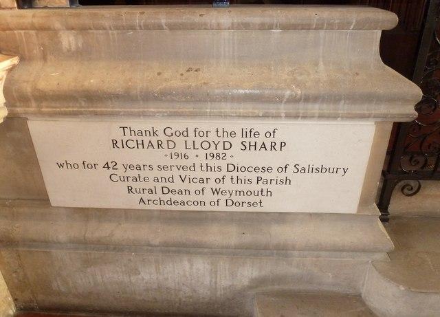 Inside Holy Trinity, Weymouth (f)