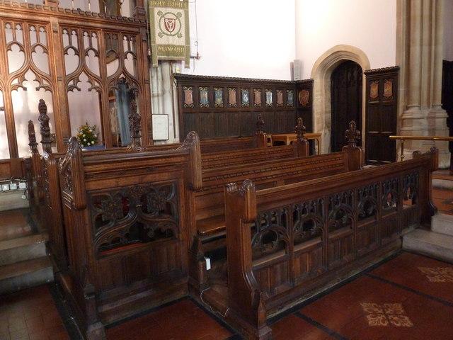 Inside Holy Trinity, Weymouth (l)