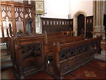 SY6778 : Inside Holy Trinity, Weymouth (l) by Basher Eyre