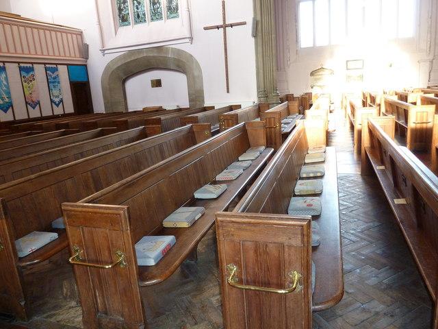 Inside Holy Trinity, Weymouth (m)