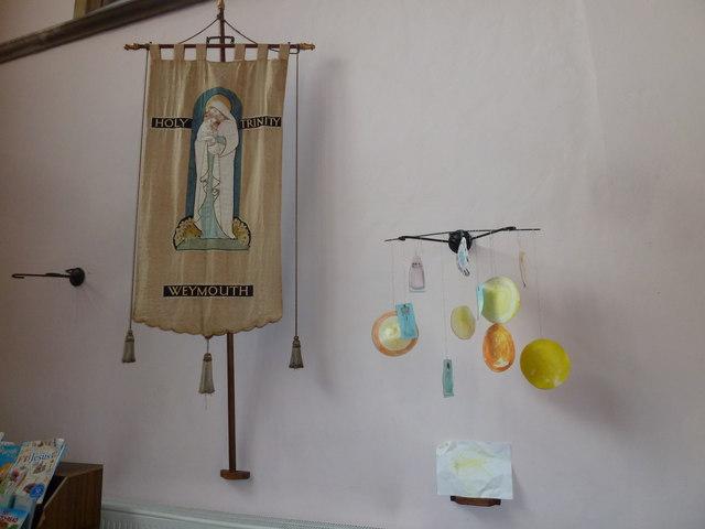 Inside Holy Trinity, Weymouth (r)