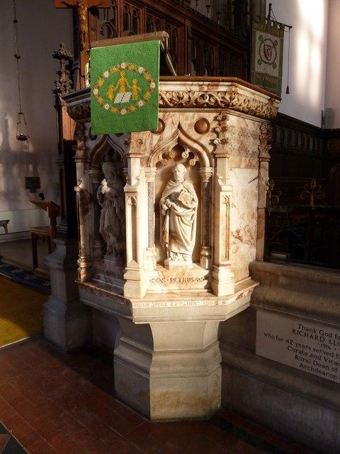 Inside Holy Trinity, Weymouth (s)