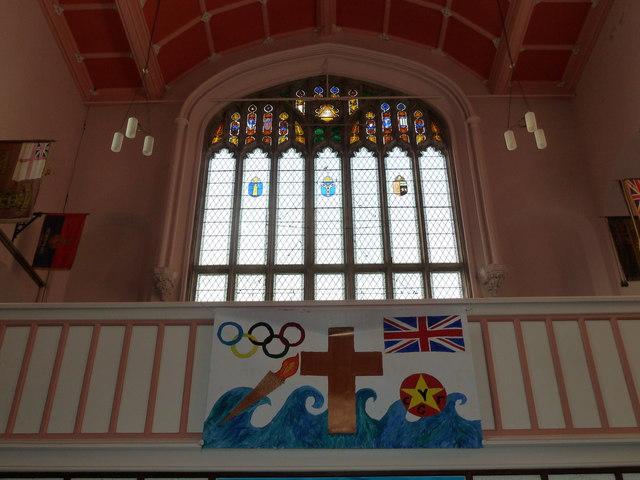 Inside Holy Trinity, Weymouth (t)