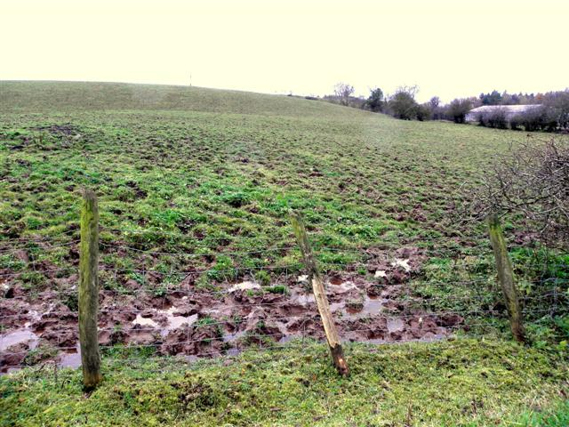 Muddy field, Mullaghmore