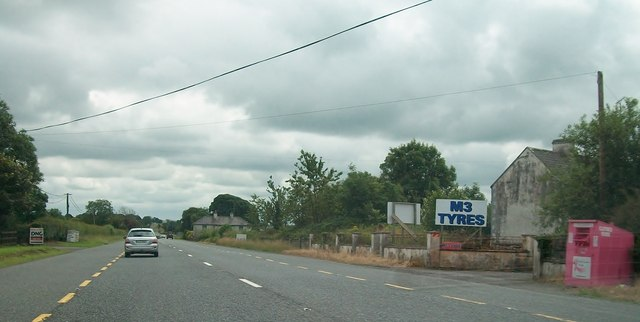 Farm houses alongside the N3 in the Townland of Edenburt, Co Cavan