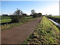 TL3878 : Farm access track by Hugh Venables