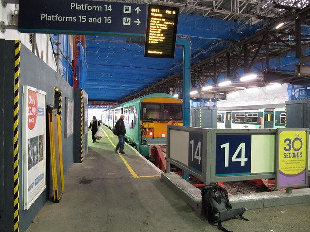 South London loop line - last month at London Bridge