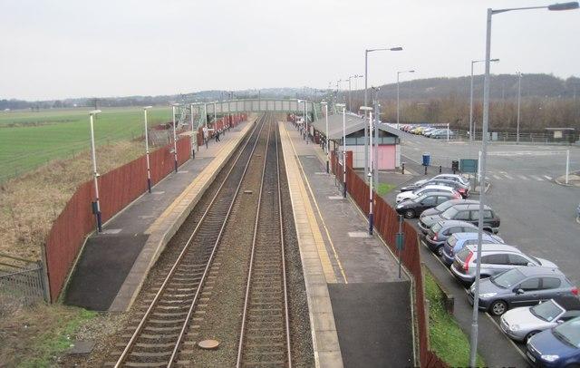 Horwich Parkway railway station, Lancashire, 2010