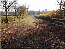 SP7006 : Stopped up road towards Thame by Michael Trolove