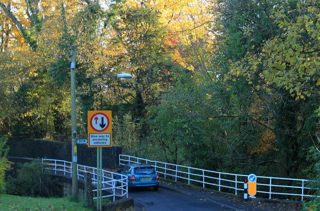 2012 : One way bridge, Chew Magna