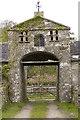 NR7461 : Entrance to Gorten Steading by Tom Richardson