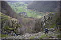 NY2612 : Climbing out of Big Stanger Gill by Tom Richardson