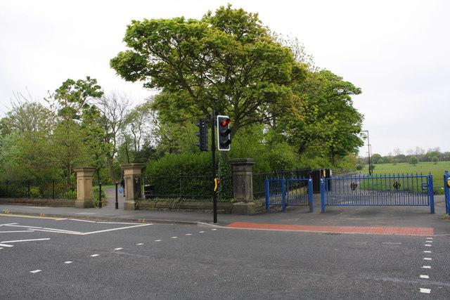 North corner of Leazes Park, Richardson Road