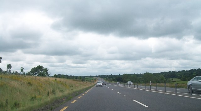 The N3 just south of the Derver Roundabout