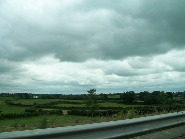 Farmland east of the N3 at Castlekeernan