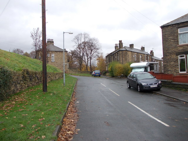Rouse Street - Halifax Road by Betty Longbottom