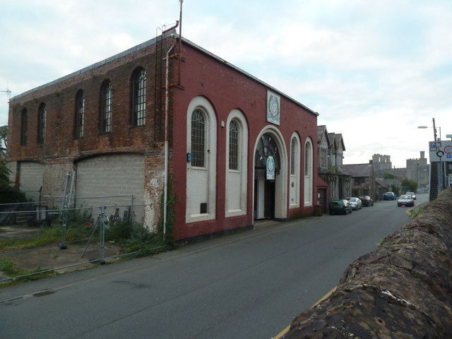 Former engineering works - Caernarfon