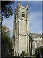 SX5895 : All Saints church, Okehampton by Dave Kelly