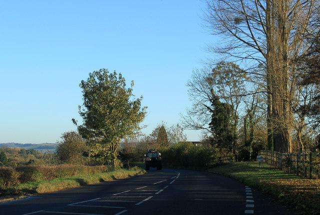 2012 : B3130 Chew Road heading south east