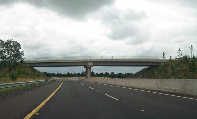 Minor road between Tankardstown and Oldtown crossing the M3