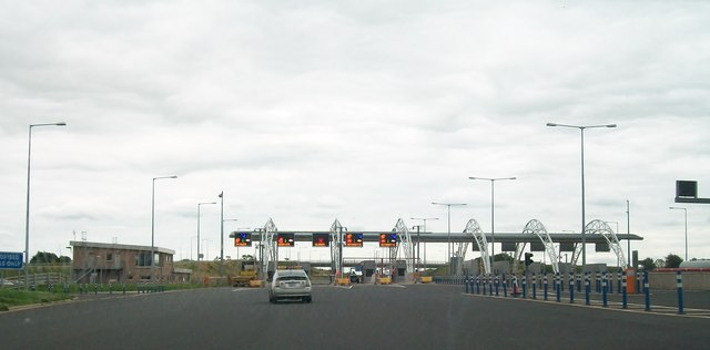 The M3 Toll Plaza north of Black Bull