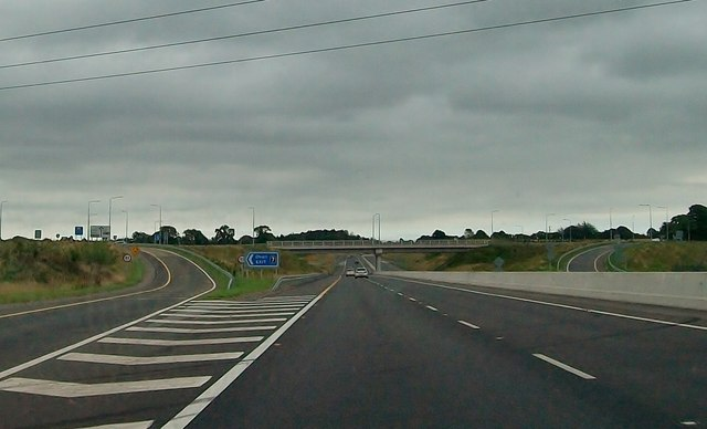 Junction 7 on the M3 at Blundelstown