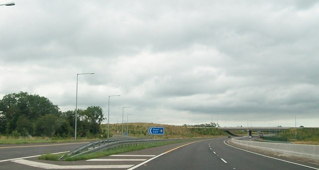 Junction 8 on the M3