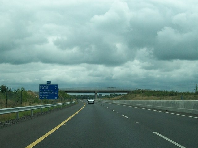 The M3 south-east of Junction 10