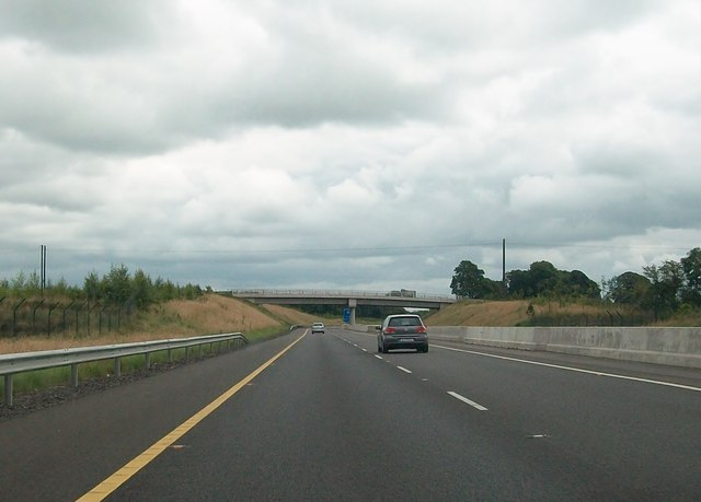 The M3 at Grangegodden on the southern edge of the town of Kells