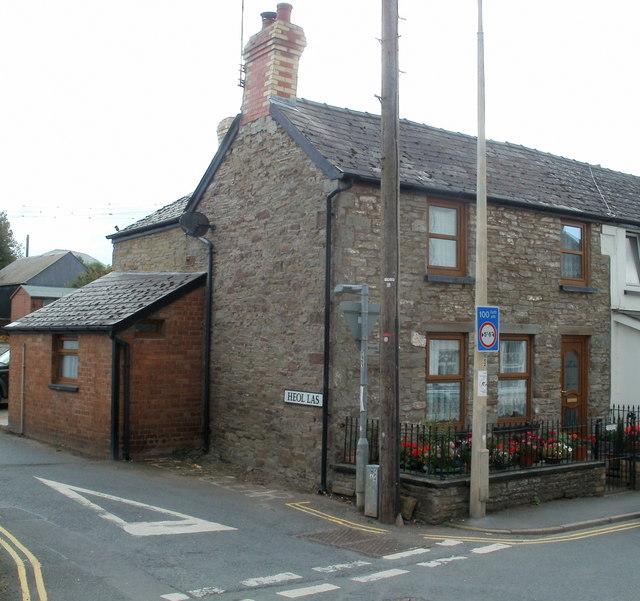 Corner of High Street and Heol Las, Talgarth