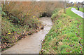 J4273 : The Enler River, Dundonald (3) by Albert Bridge