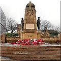 SE1632 : Bradford, Victoria Square War Memorial by David Dixon