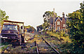 NY6820 : Remains of Appleby (NER) station, 1991 by Ben Brooksbank