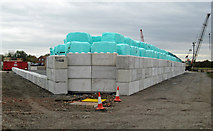 TA0623 : Bale Storage at Old Ferry Wharf by David Wright