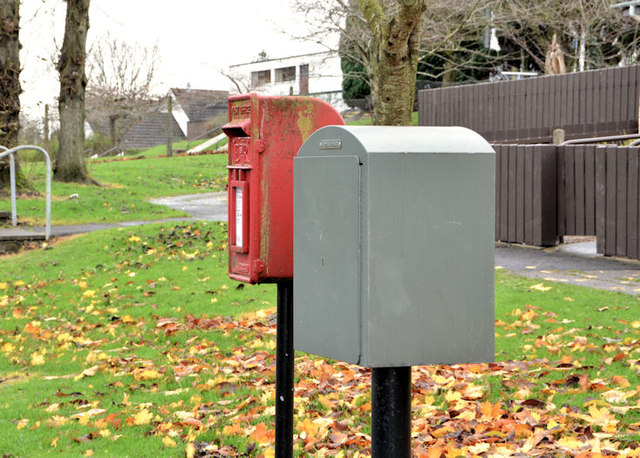 Drop and letter box, Dundonald