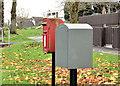 J4273 : Drop and letter box, Dundonald by Albert Bridge